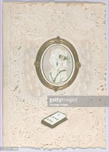 Valentine, 1859-1869. Artist Anon.