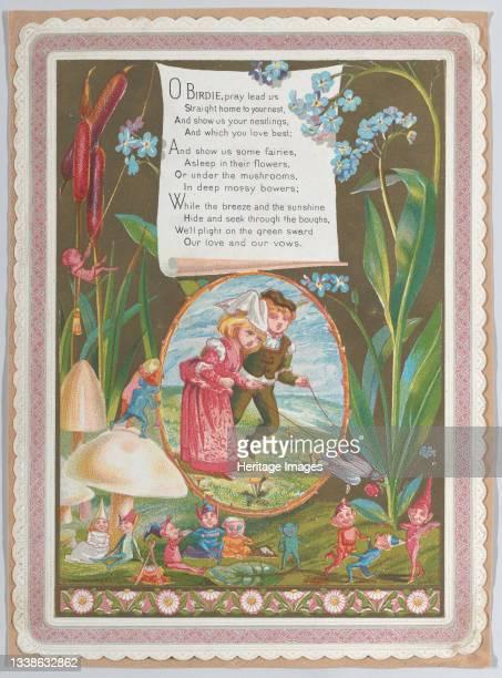 Valentine, 1874. Artist Catherine Greenaway.