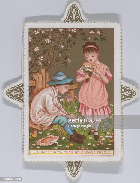Valentine, 1876. Artist Catherine Greenaway.