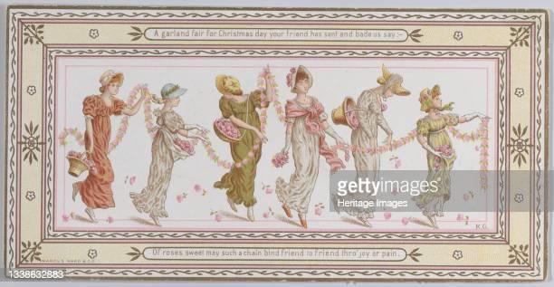 Valentine, 1881. Artist Catherine Greenaway.