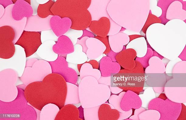Valentine Heart Background, Pink, Red, White, Design,