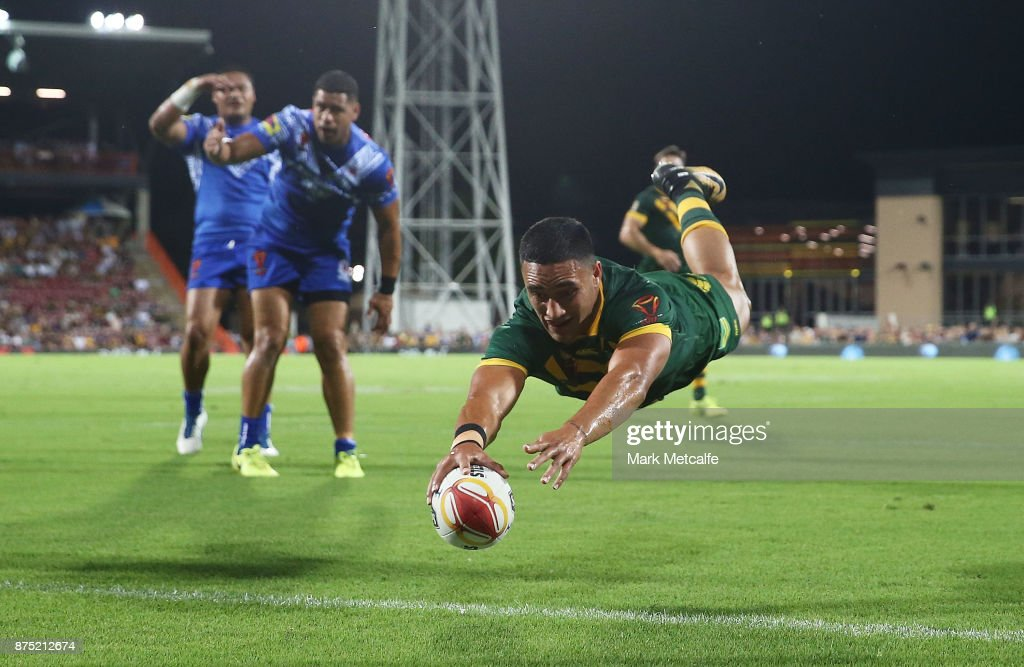 2017 Rugby League World Cup - Quarter Final: Australia v Samoa