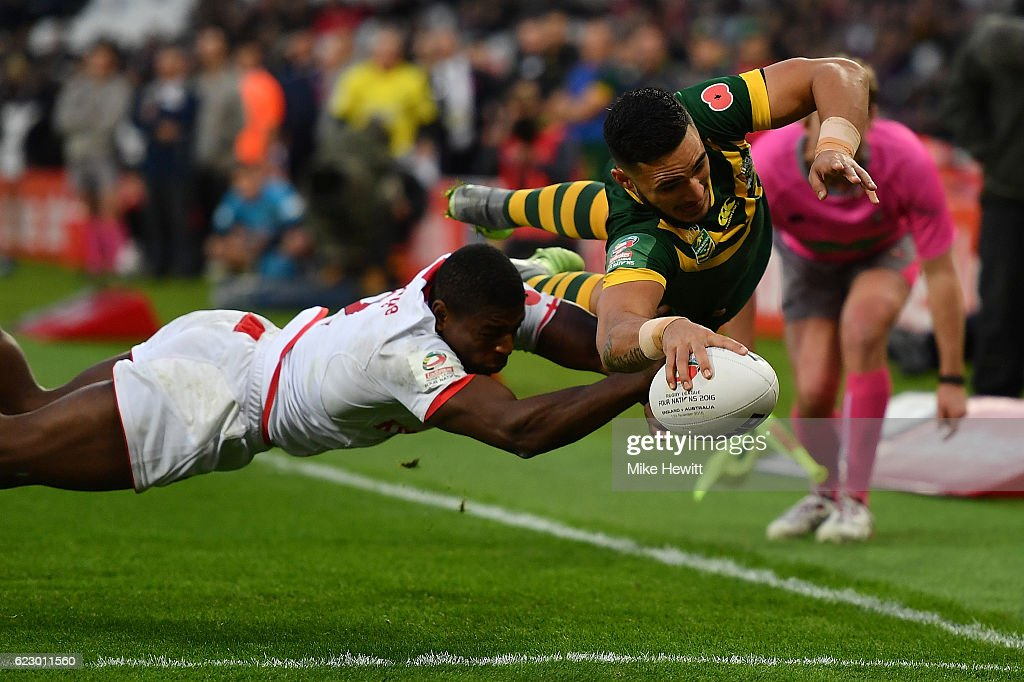England v Australia - Four Nations