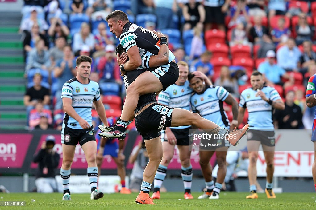 NRL Rd 10 - Knights v Sharks