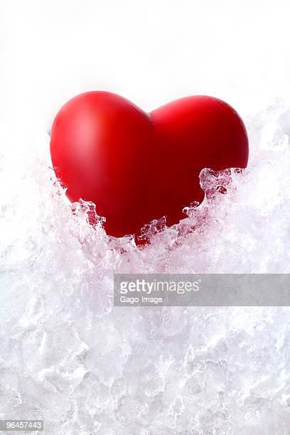 Saint-Valentin sur glace