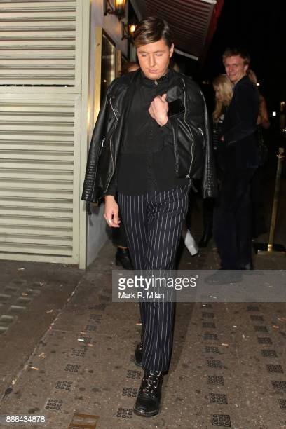 Valentine Sozbilir attending Tallia Storms 19th Birthday Party at Bunga Bunga Covent Garden on October 25 2017 in London England