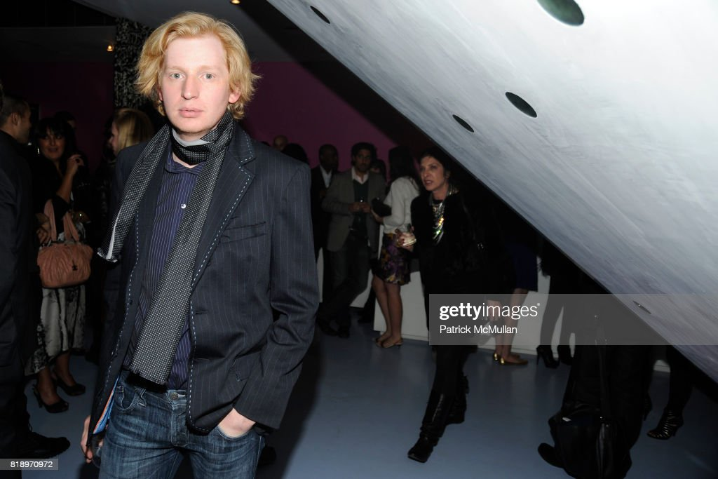 Valentine Uhovski Attends CFDA 2010 Nominee Honoree Announcement Party  Hosted By NADJA SWAROVSKI And DIANE VON