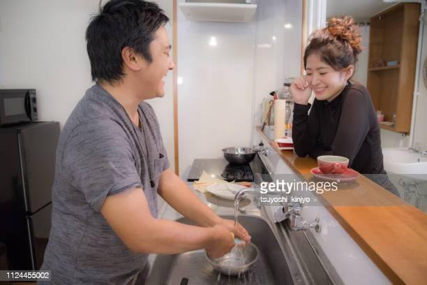 バレンタイン、男とバレンタインを過ごす女性 - 人工物 ストックフォトと画像