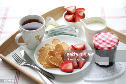 valentines day breakfast stock photo | getty images, Ideas