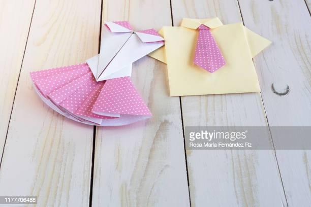 How to make Necktie Heart Origami Corbata Corazón Origami - YouTube | 408x612