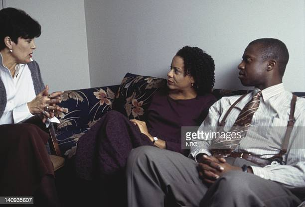 STREET 'Valentine's Day' Episode 15 Aired 2/14/97 Pictured Linda Dano as Dr Milano Ami Brabson as Mary Pembleton Andre Braugher as Det Frank...