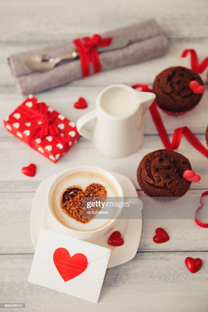 Valentines day gift chocolates coffee and muffins valentines day gift chocolates coffee and muffins negle Images