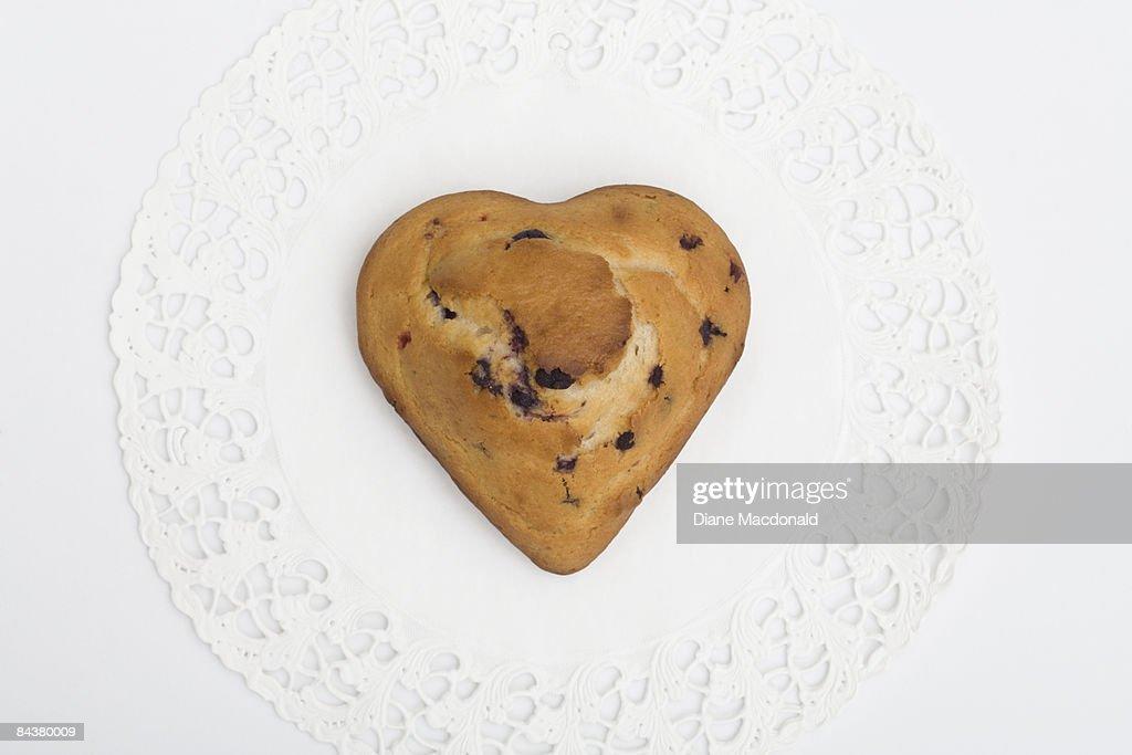 A Valentine's Day healthy treat : Stock Photo