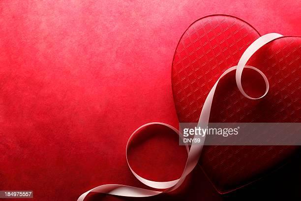 バレンタインデーのハート