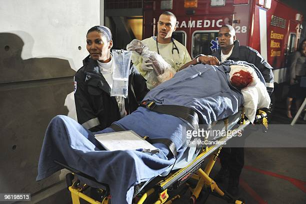"""Valentine's Day Massacre"""" -- It's Valentine's Day, and the doctors must treat dozens of injured people after the roof collapses at a popular romantic..."""