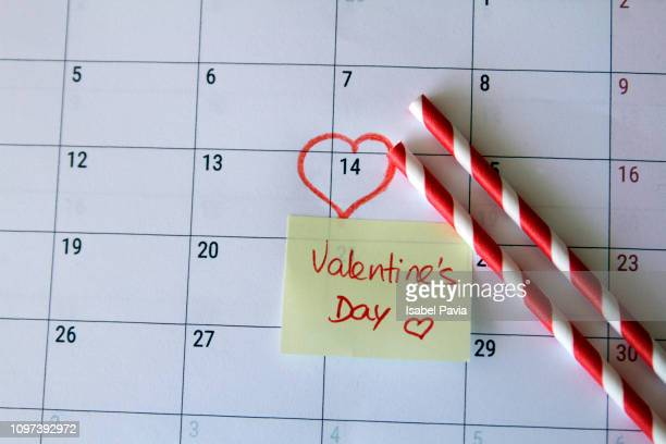 valentine's day - number 14 stock photos and pictures