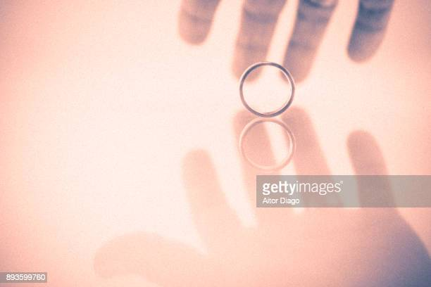 valentine's day - wedding ring stock pictures, royalty-free photos & images