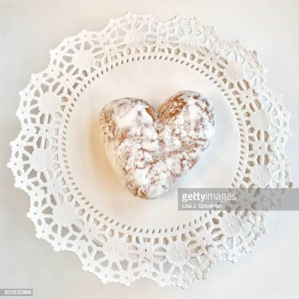 valentine's day - doily bildbanksfoton och bilder