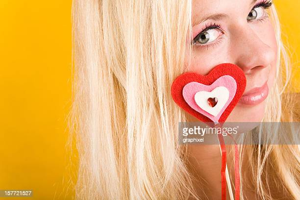 valentines day portrait - graphixel stock pictures, royalty-free photos & images