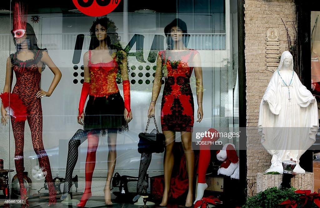 Couture lingerie shop valentines