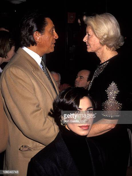 Valentino and CZ Guest during Book Party for David Hockney's 'Alphabet' at Mortimer's in New York City New York United States