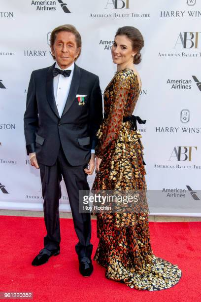 Valentino and guest attend the 2018 American Ballet Theatre Spring Gala at The Metropolitan Opera House on May 21 2018 in New York City