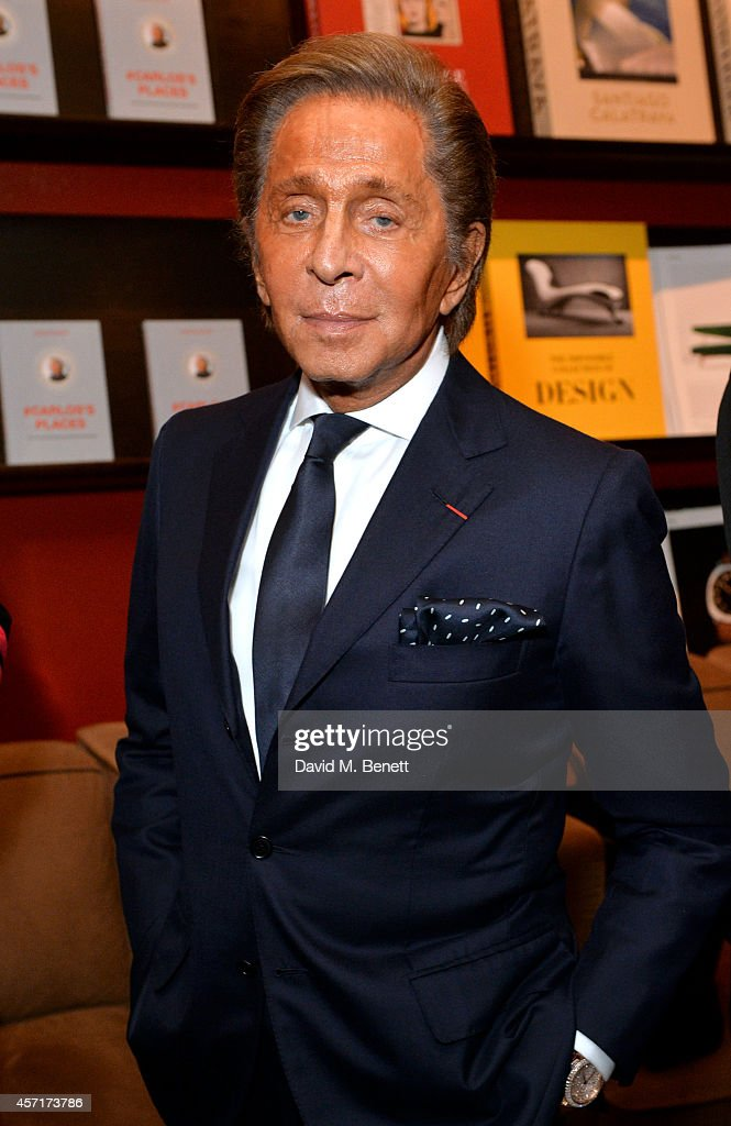Carlos Souza, Valentino Brand Ambassador, Signs Copies Of #Carlos's Places At The Assouline Boutique Within Claridge's