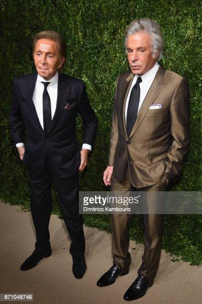 Valentino attends the 14th Annual CFDA/Vogue Fashion Fund Awards at Weylin B Seymour's on November 6 2017 in the Brooklyn borough of New York City...