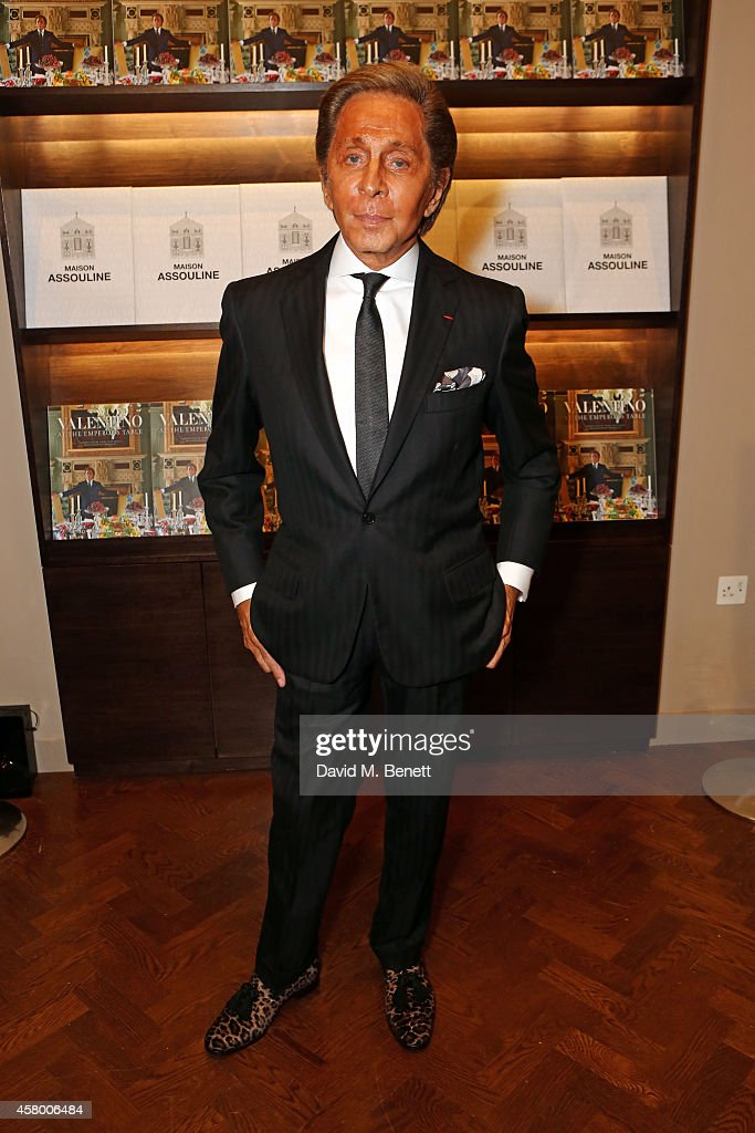 Assouline Opens Maison Assouline, Its First Flagship, With Mr. Valentino Garavani As He Signs Copies Of His Book