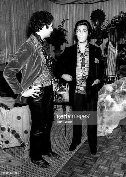 Valentino attends Valentino Fashion Party on September 27, 1970 at the Pierre Hotel in New York City.