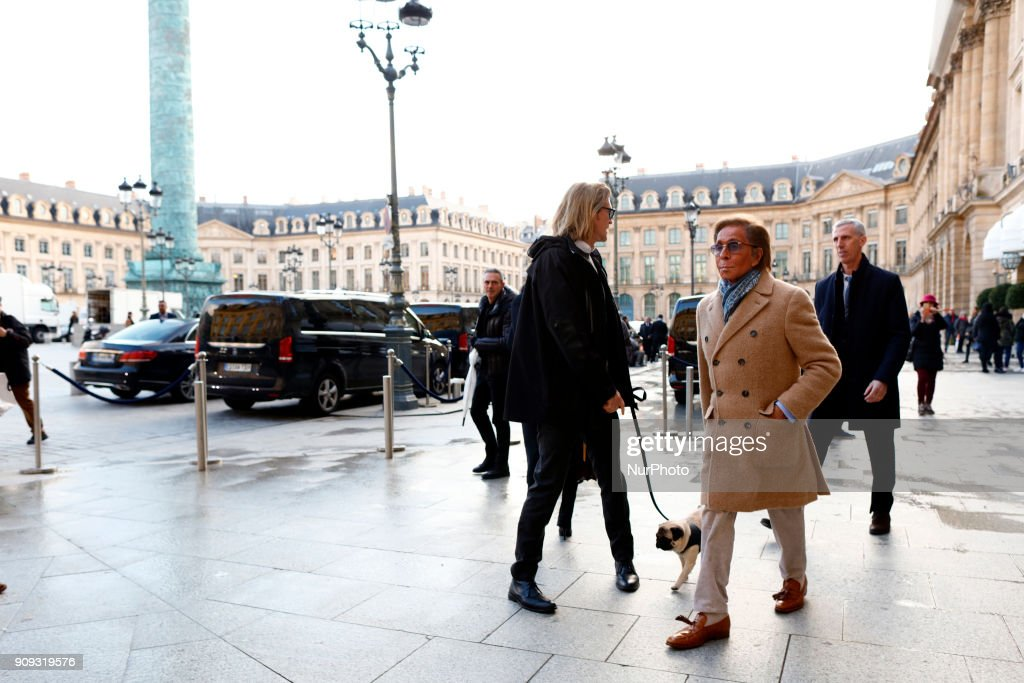 Valentino in Paris : News Photo