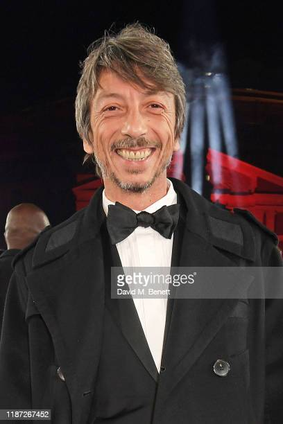 Valentino Creative Director Pierpaolo Piccioli arrives at The Fashion Awards 2019 held at Royal Albert Hall on December 2 2019 in London England
