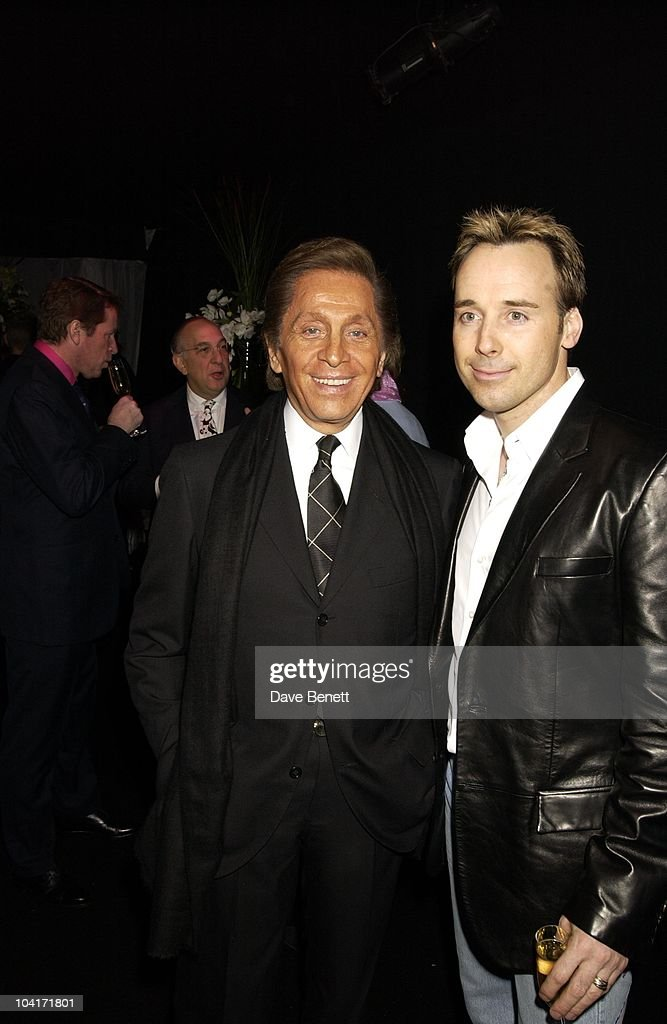 Valentino & David Furnish, Valentino Party, At The Serpentine Gallery, London