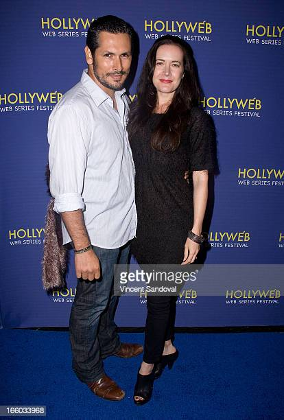 Valentino Del Toro attends the 2nd annual HollyWeb Festival at Avalon on April 7 2013 in Hollywood California