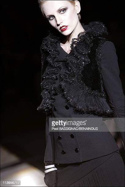 Valentino Fall-Winter 2006-2007 Haute Couture show In Paris, France On July 05, 2006.