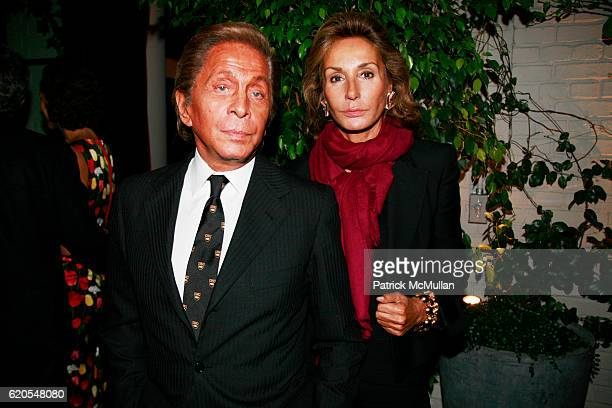 Valentino Garavani and Countess Jacqueline de Ribes attend THE CINEMA SOCIETY NARS Host the After Party for THE WOMEN at Grammercy Park Hotel on...