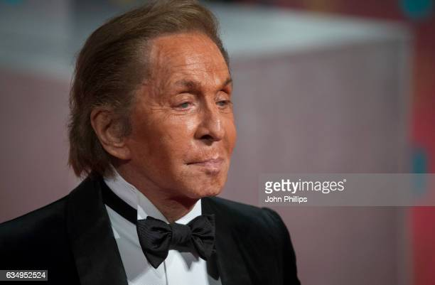 Valentino Garavani attends the 70th EE British Academy Film Awards at Royal Albert Hall on February 12 2017 in London England