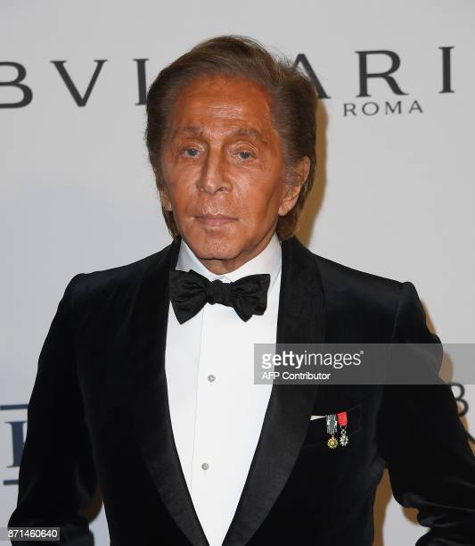 Valentino Garavani attends the Elton John AIDS Foundation Commemorates Its 25th Year And Honors Founder Sir Elton John During New York Fall Gala at...