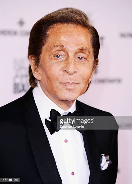 Valentino Garavani attends the New York City Ballet 2015 Spring Gala at David H Koch Theater Lincoln Center on May 7 2015 in New York City