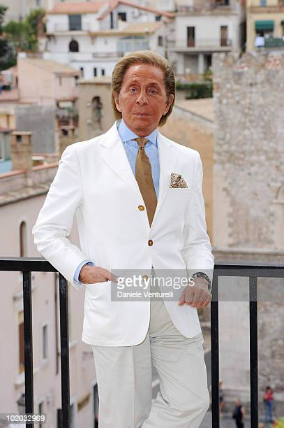 Valentino Garavani attends the Taormina Film Fest 2010 Photocall on June 13 2010 in Taormina Italy