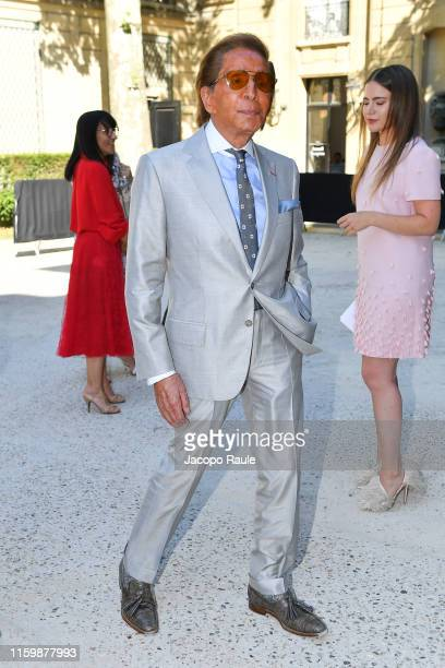 Valentino Garavani attends the Valentino Haute Couture Fall/Winter 2019 2020 show as part of Paris Fashion Week on July 03 2019 in Paris France