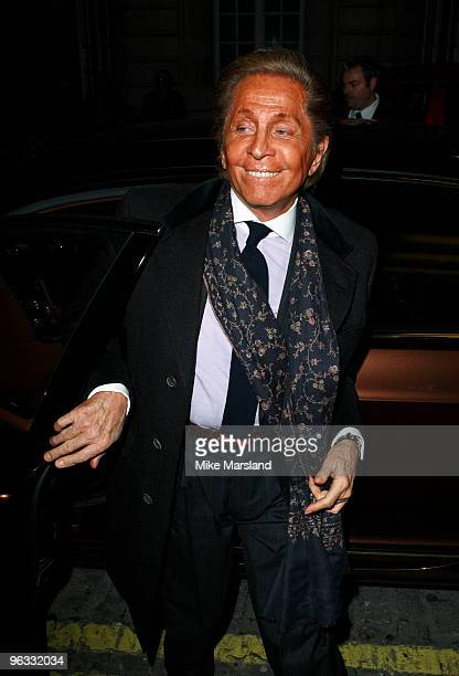 Valentino Garavani attends UK Film Premiere of 'A Single Man' at The Curzon Mayfair on February 1, 2010 in London, England.