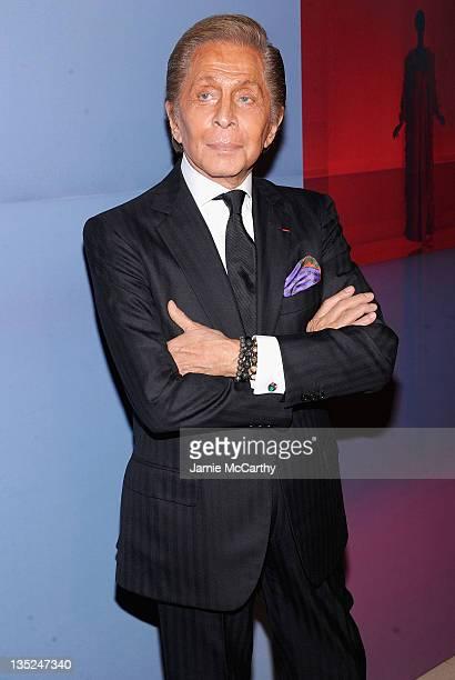 Valentino Garavani attends Valentino Garavani Virtual Museum Launch party at the IAC Headquarters on December 7 2011 in New York City