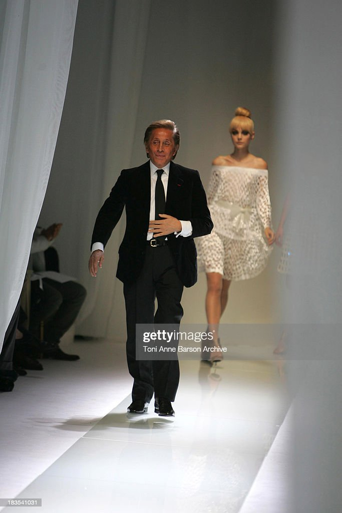 Valentino Garavani Designer During Paris Fashion Week Haute Couture News Photo Getty Images