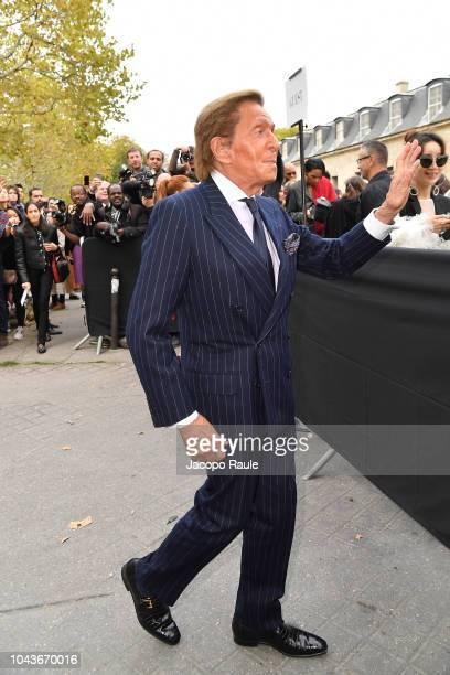Valentino Garavani is seen arriving at Valentino fashion show during Paris Fashion Week Womenswear Spring/Summer 2019 on September 30 2018 in Paris...