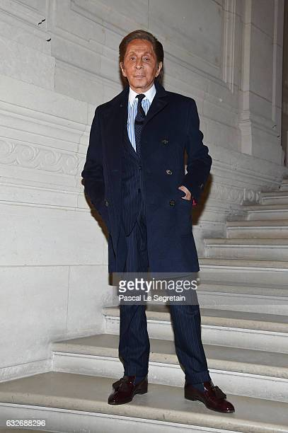 Valentino Garvani attends the Valentino Haute Couture Spring Summer 2017 show as part of Paris Fashion Week on January 25 2017 in Paris France