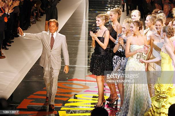 Valentino in Paris France on October 3rd 2007
