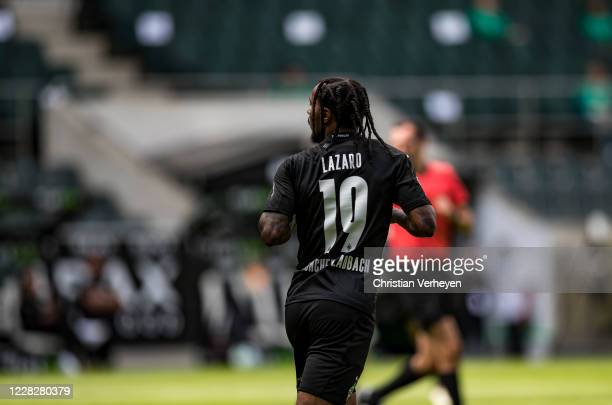 Valentino Lazaro of Borussia Moenchengladbach is seen during the PreSeason friendly match between Borussia Moenchengladbach and SpVgg Fuerth at...