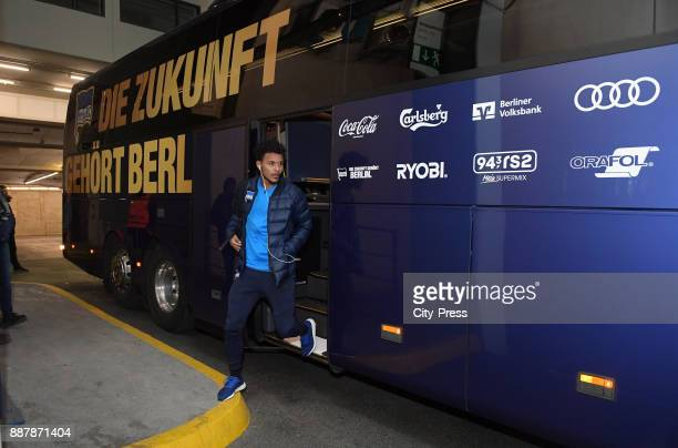 Valentino Lazaro of Hertha BSC before the Uefa Europa League Group J match between Hertha BSC and Oestersunds FK on December 7 2017 in Berlin Germany