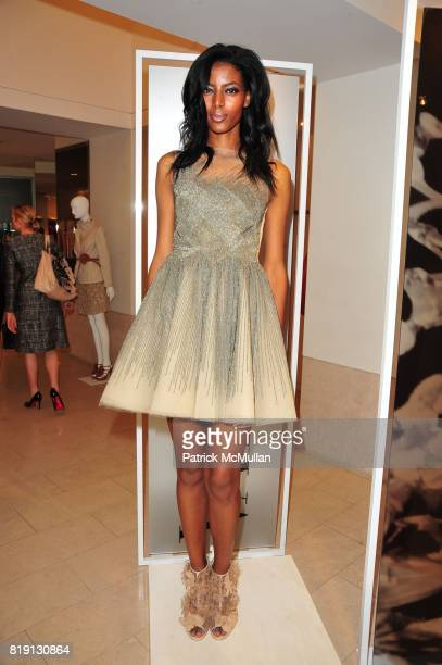 Valentino Model attends VALENTINO Spring/ Summer 2010 Collection Private Luncheon and Presentation hosted by Samantha Boardman Rosen Shala Monroque...